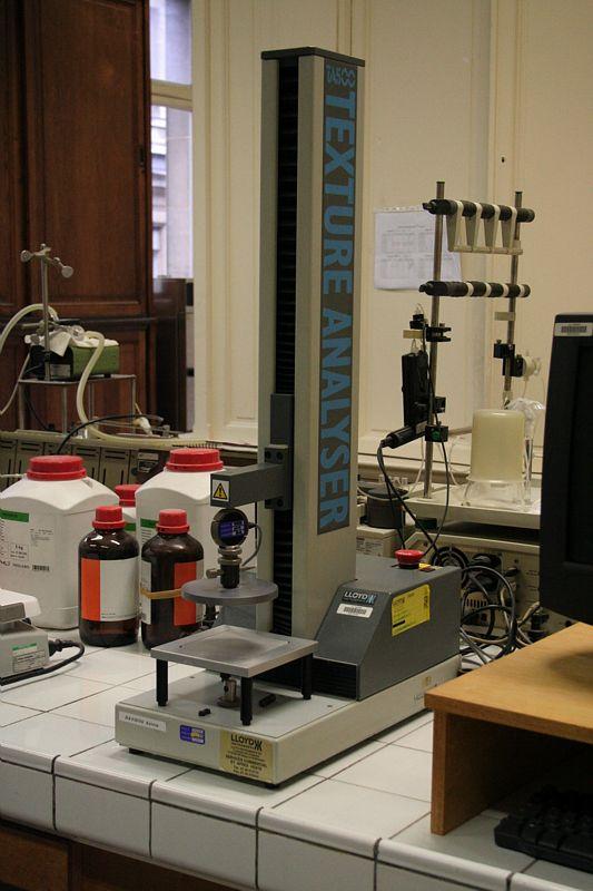 Laboratoires de la chaire de Biochimie