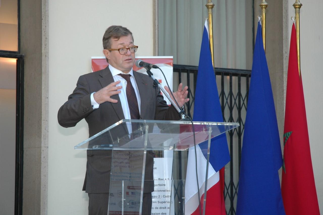 Olivier Faron au centre Cnam Maroc