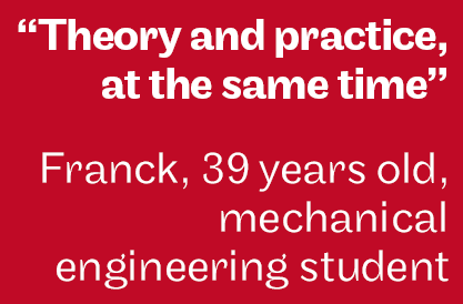 Theory and practice at the same time